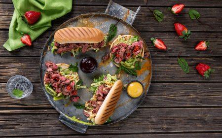 Grillatut Flanksteak Burgerit ja Hodarit 1