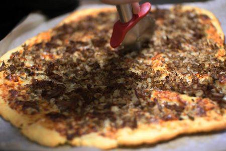 Siiderihaudutetut ibericoporsaanposket ja mustan possun pizza 2