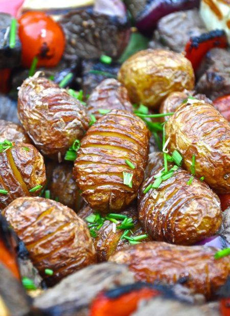 Strutsivartaat ja minihasselbacka-perunat 2